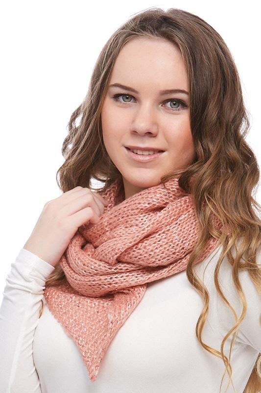 Šátek, šála pletená 1J0295
