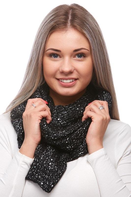 Šátek, šála pletená 1J0294