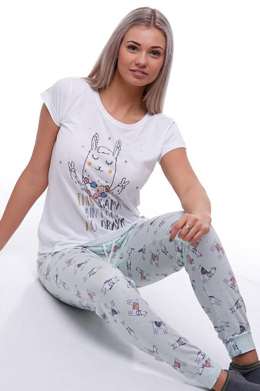 Dámské pyžamo Lama 1B0709