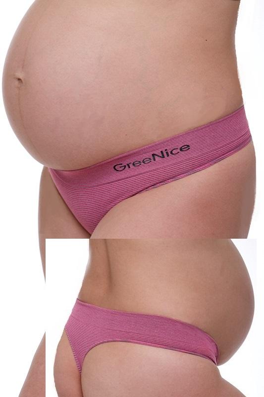 Těhotenské kalhotky tanga 1K0326