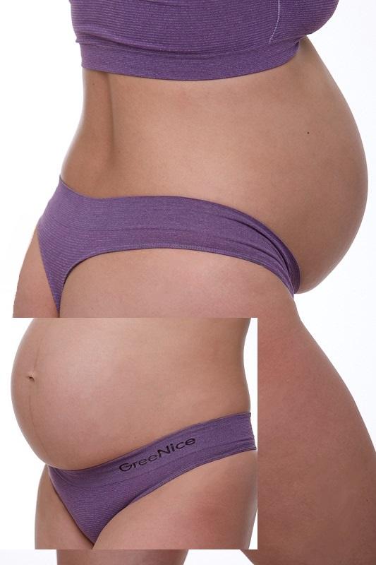Těhotenské kalhotky tanga 1K0323