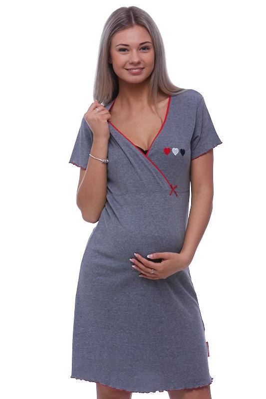 Těhotenská a kojící košilka 1C1552