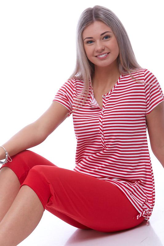 Pyžamo propínací dámské 1B0716