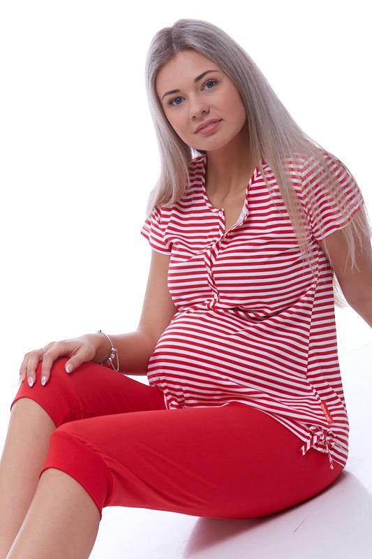 Pyžamo na kojení do porodnice 1B0716