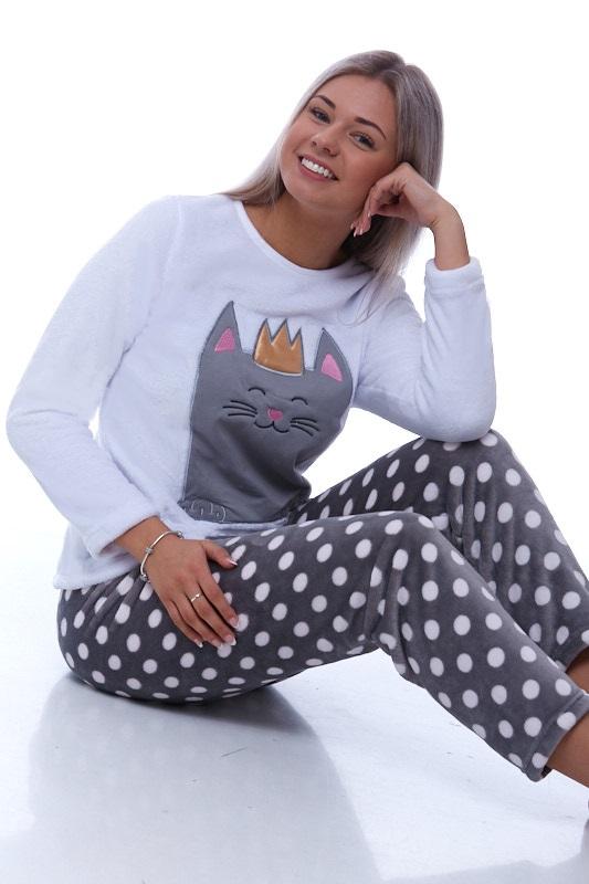 Pyžamo extra teplé pro ženy 1Z0863