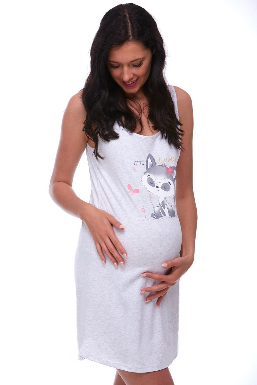 Těhotenská i kojící košilka 1C1611