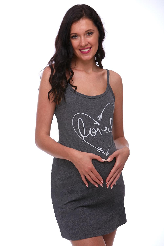 Těhotenské šaty z bavlny 1C1615