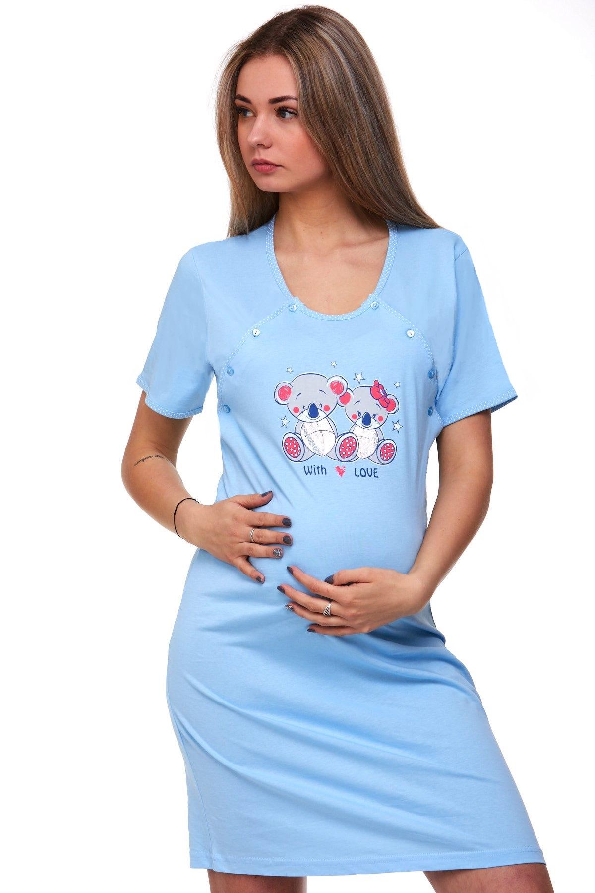 Košilka kojící do porodnice 1C1687