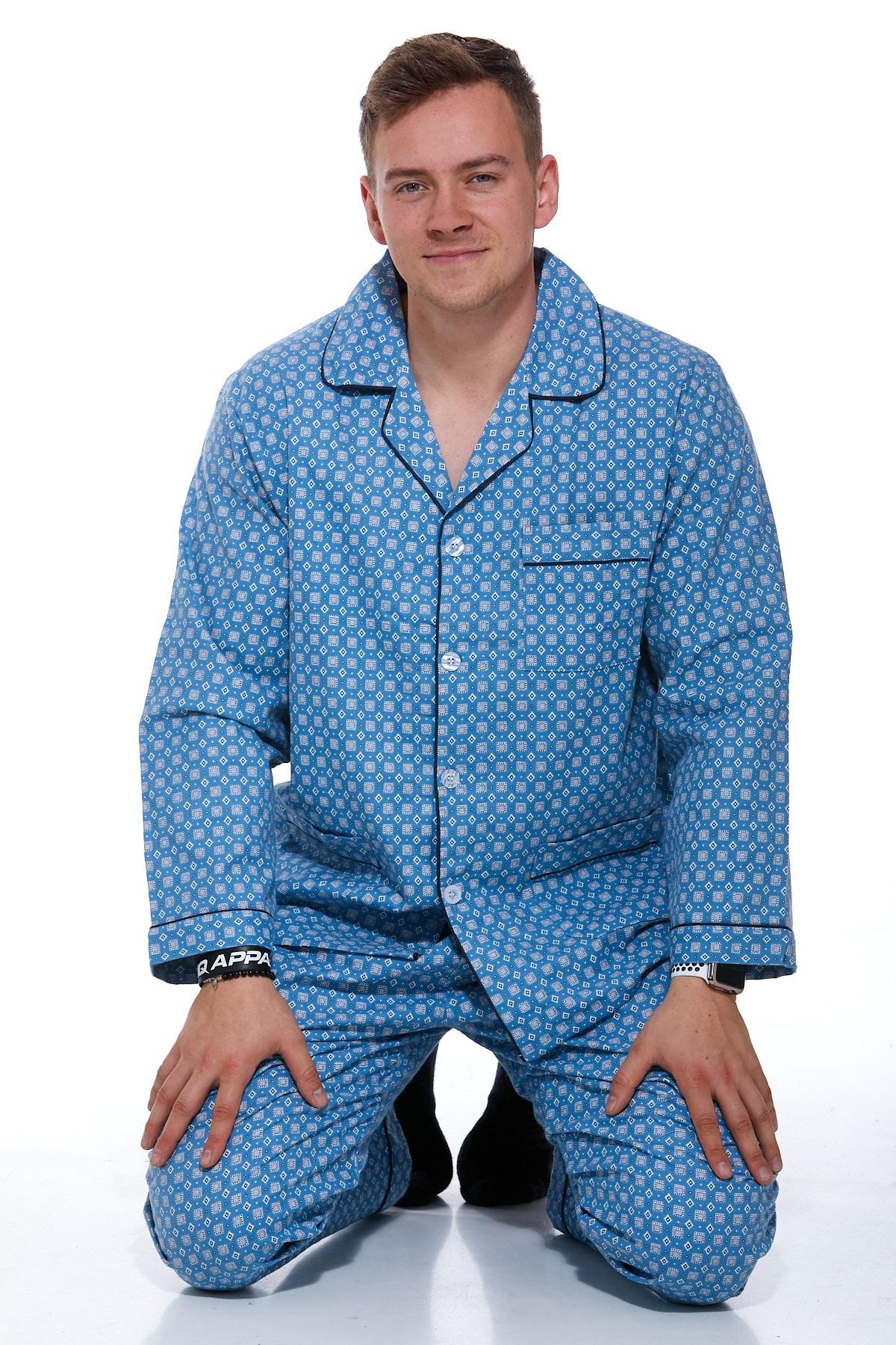 Pánské pyžamo teplé 1P0720