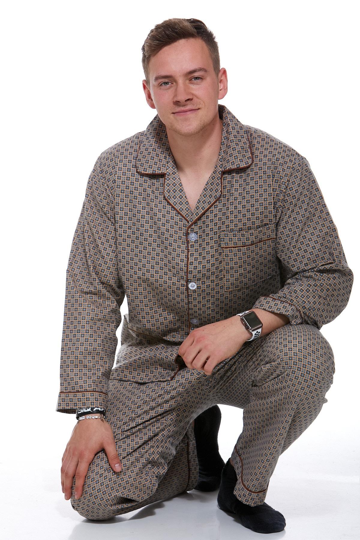 Pánské pyžamo teplé 1P0718