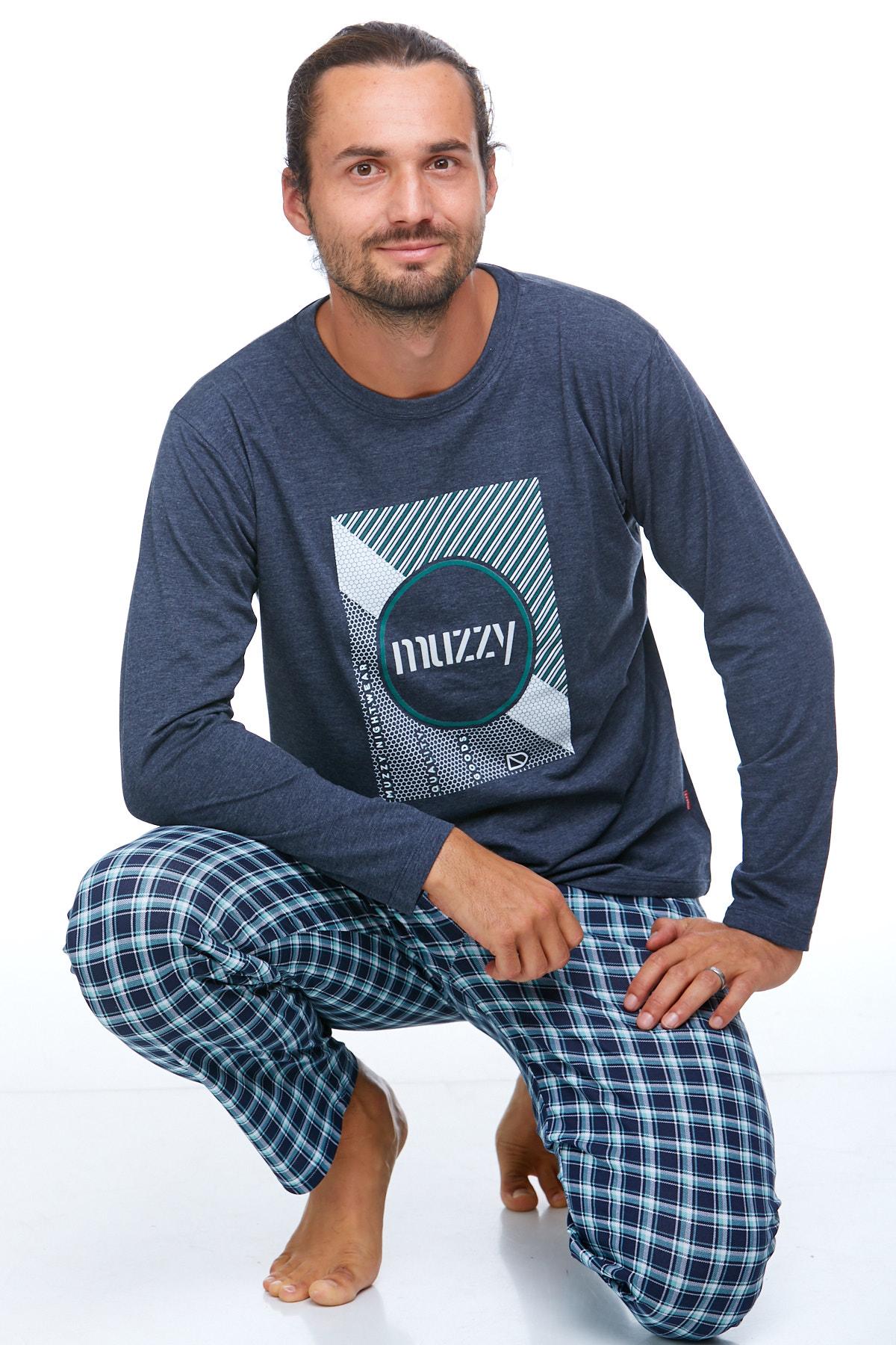 Pyžamo pro muže luxusní 1P0711