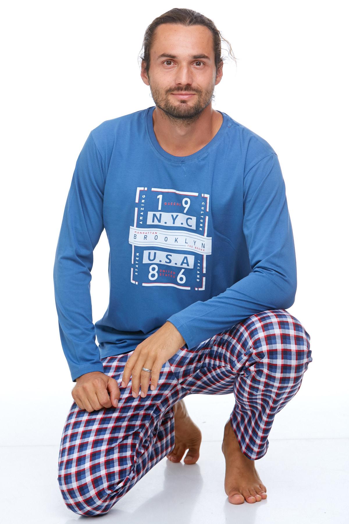 Pyžamo pro muže luxusní 1P0710