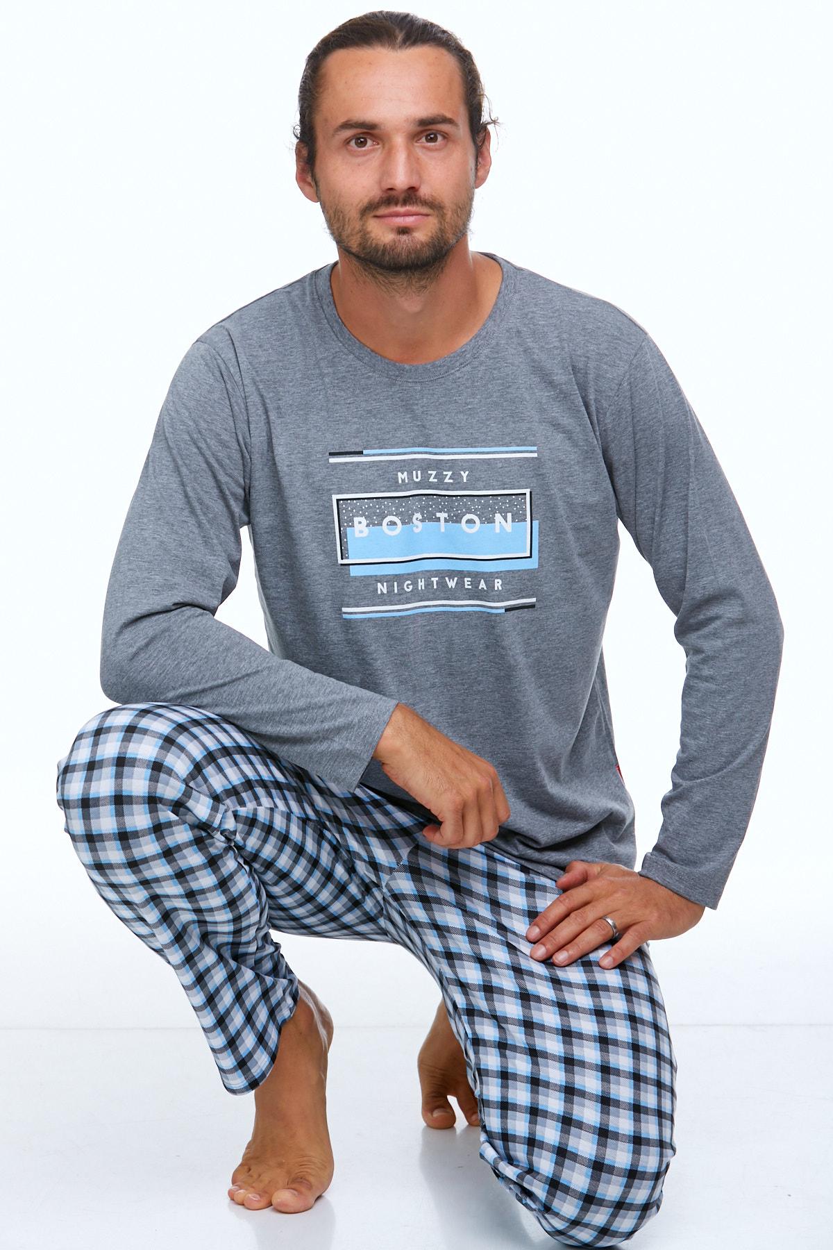 Pyžamo pro muže luxusní 1P0707