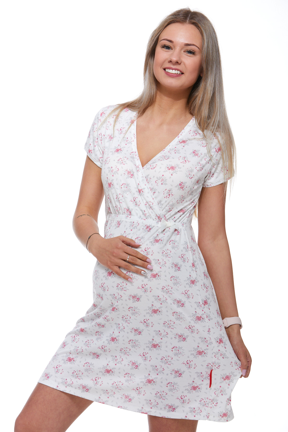 Těhotenská a kojící košilka  1C1699