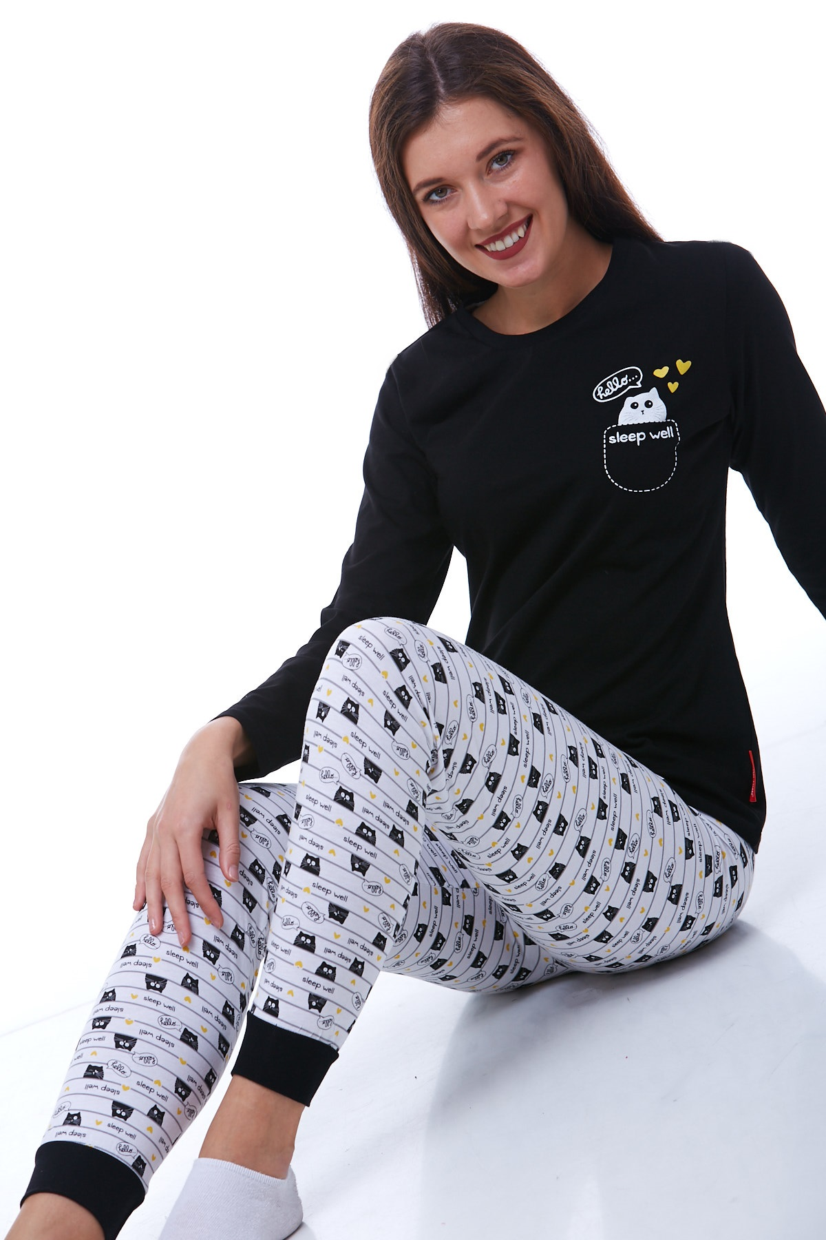 Dámské pyžamo  1B0736