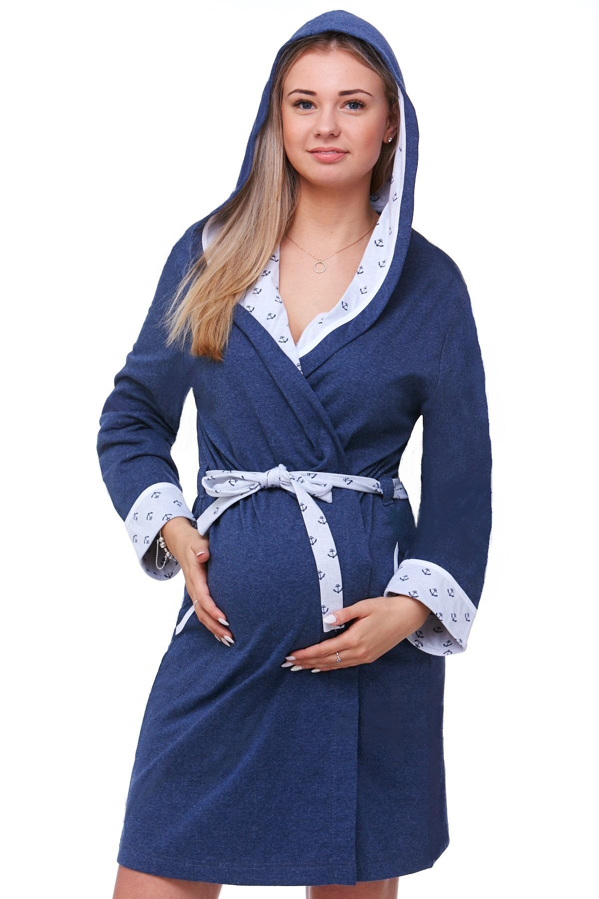 Těhotenský župan na kojení 1W0286