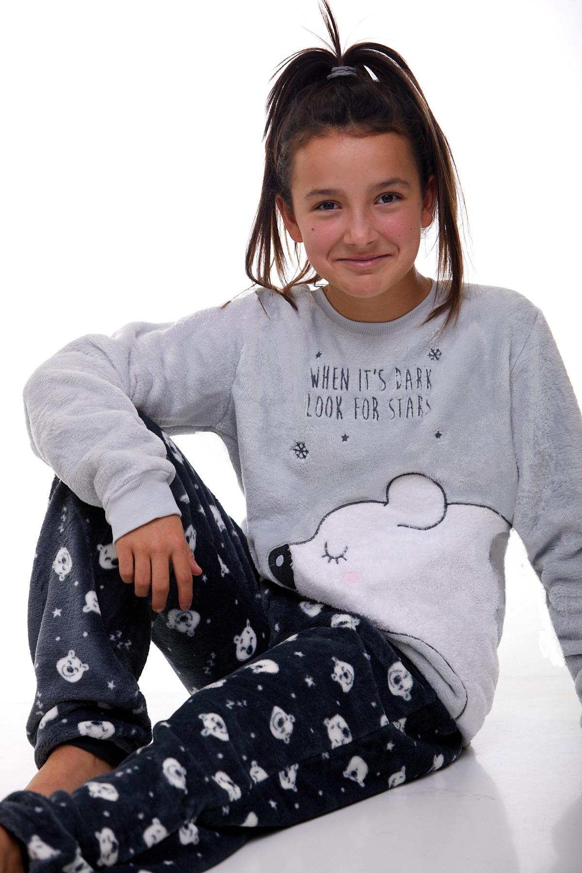 Dívčí pyžamo extra teplé 1T0322