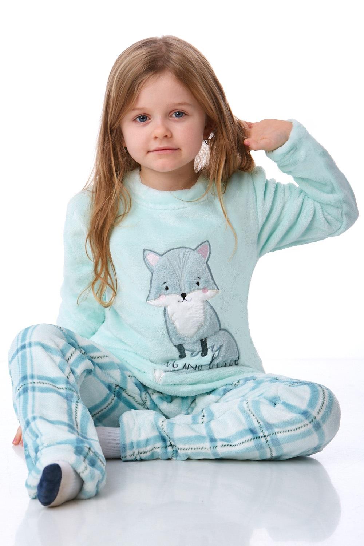 Dívčí pyžamo extra teplé 1T0321