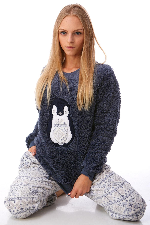 Pyžamo extra teplé pro ženy 1Z0890