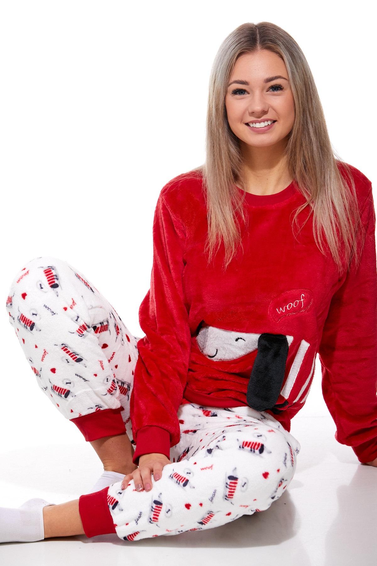 Pyžamo extra teplé pro ženy 1Z0883