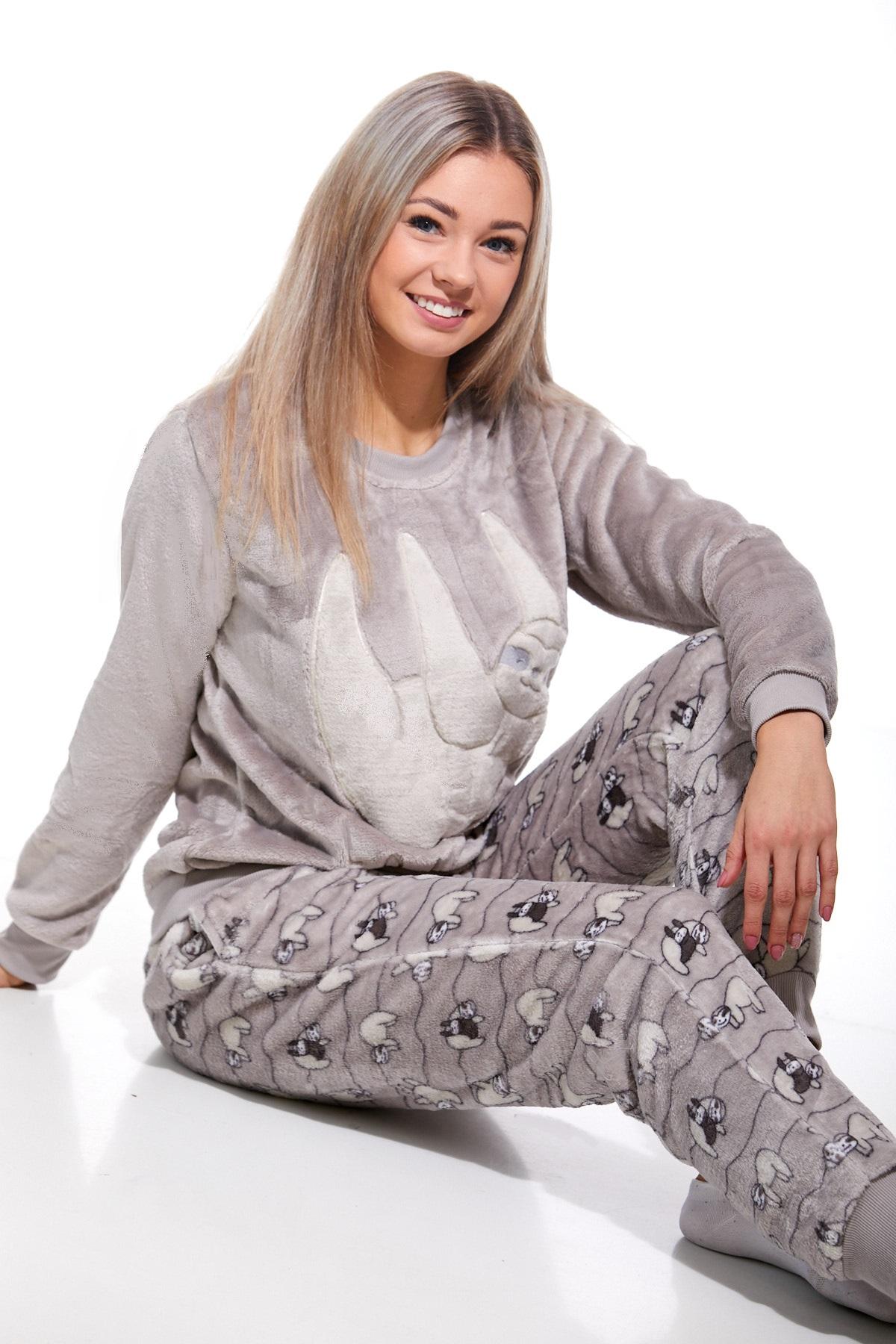 Pyžamo extra teplé pro ženy 1Z0881