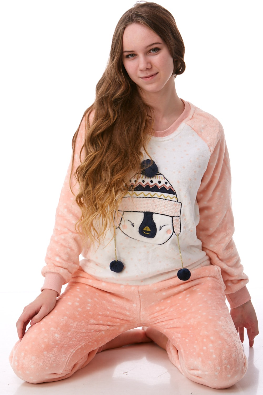 Pyžamo extra teplé pro ženy