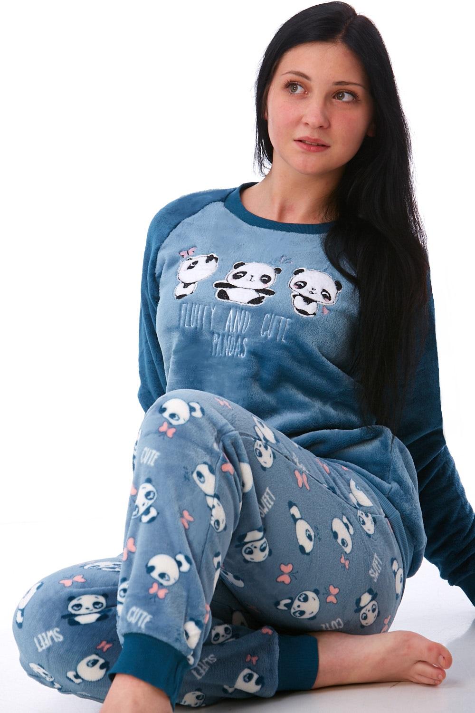 Pyžamo extra teplé pro ženy 1Z0878
