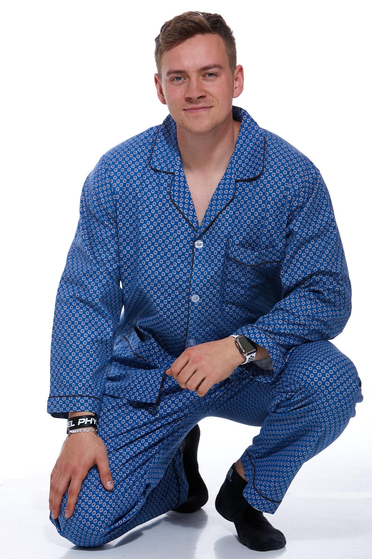 Pánské pyžamo teplé 1P0738