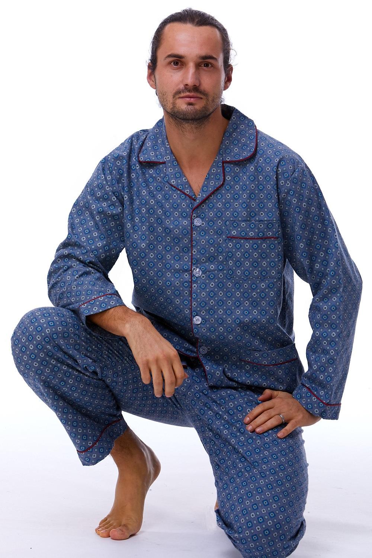 Pánské pyžamo teplé 1P0737