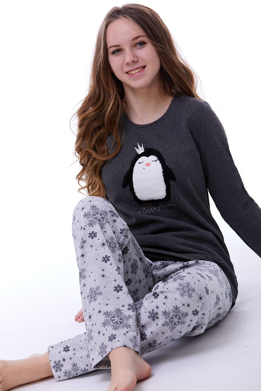 Teplé dámské pyžamo 1B0781