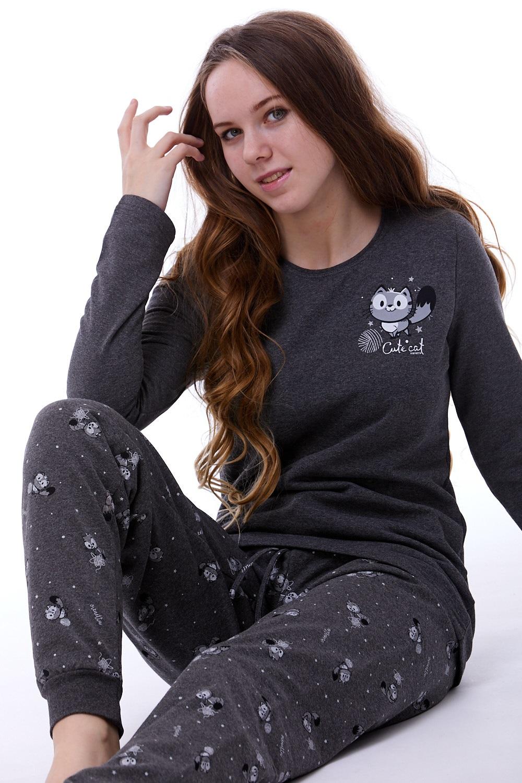 Teplé dámské pyžamo 1B0780
