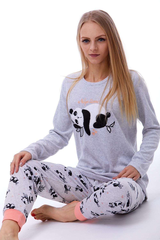 Teplé dámské pyžamo 1B0776
