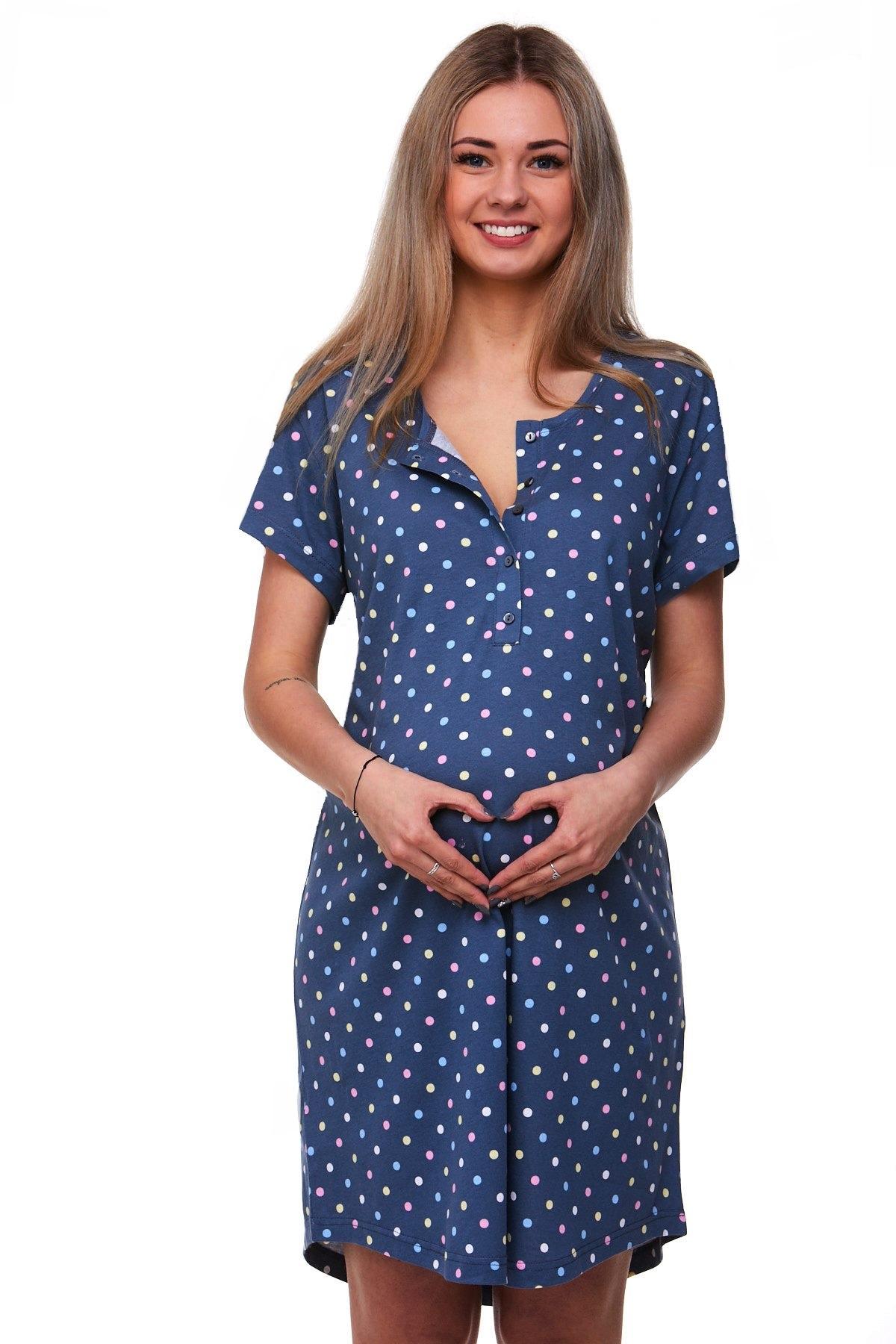Těhotenská a kojící košilka 1C1766
