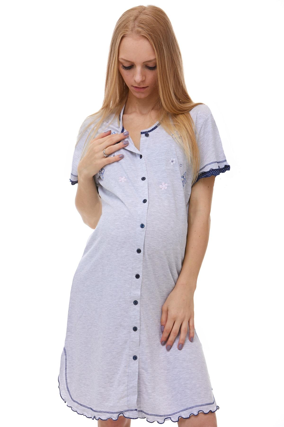 Celo propínací košilka kojící a těhotenská
