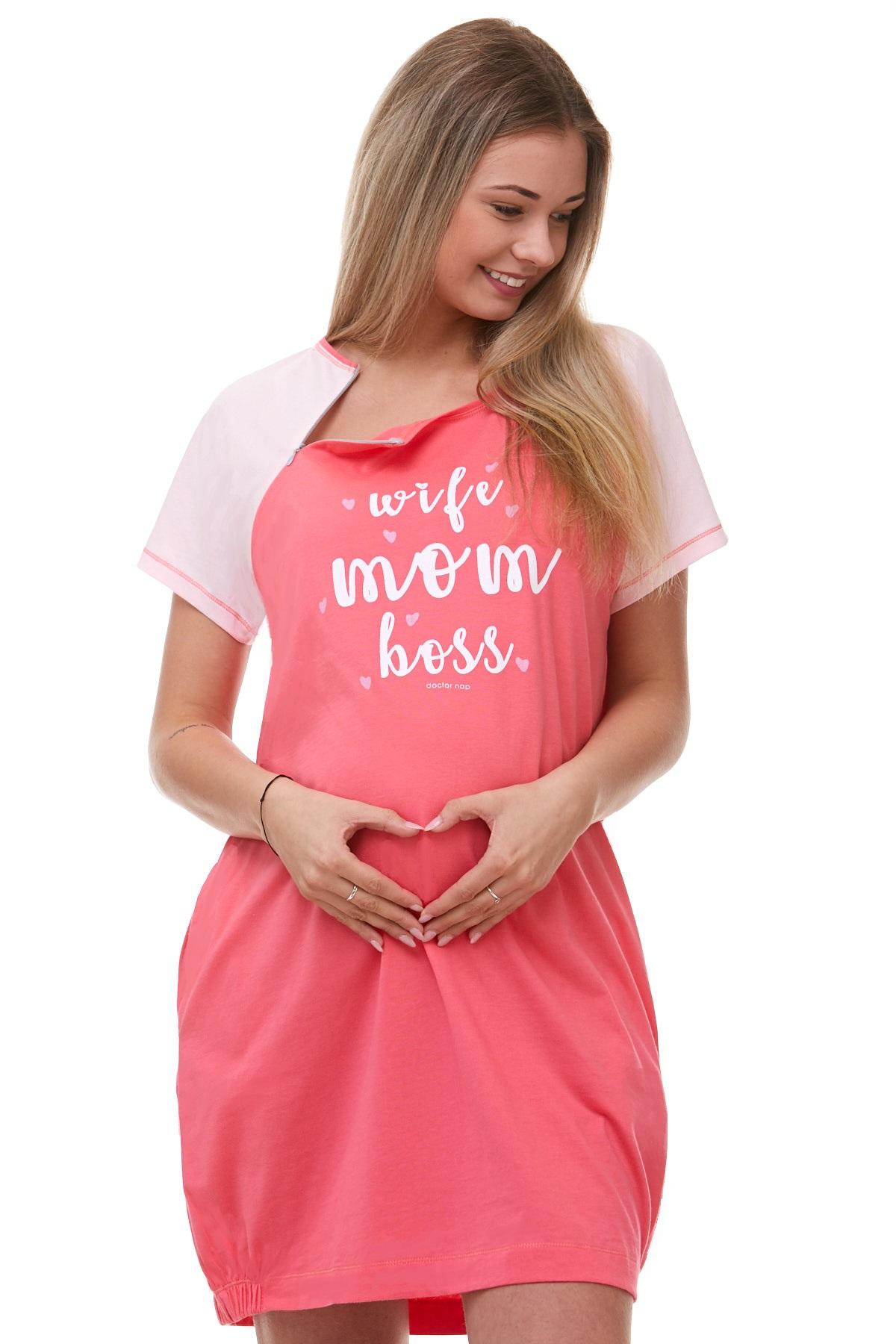 Těhotenská a kojící košile 1C1789
