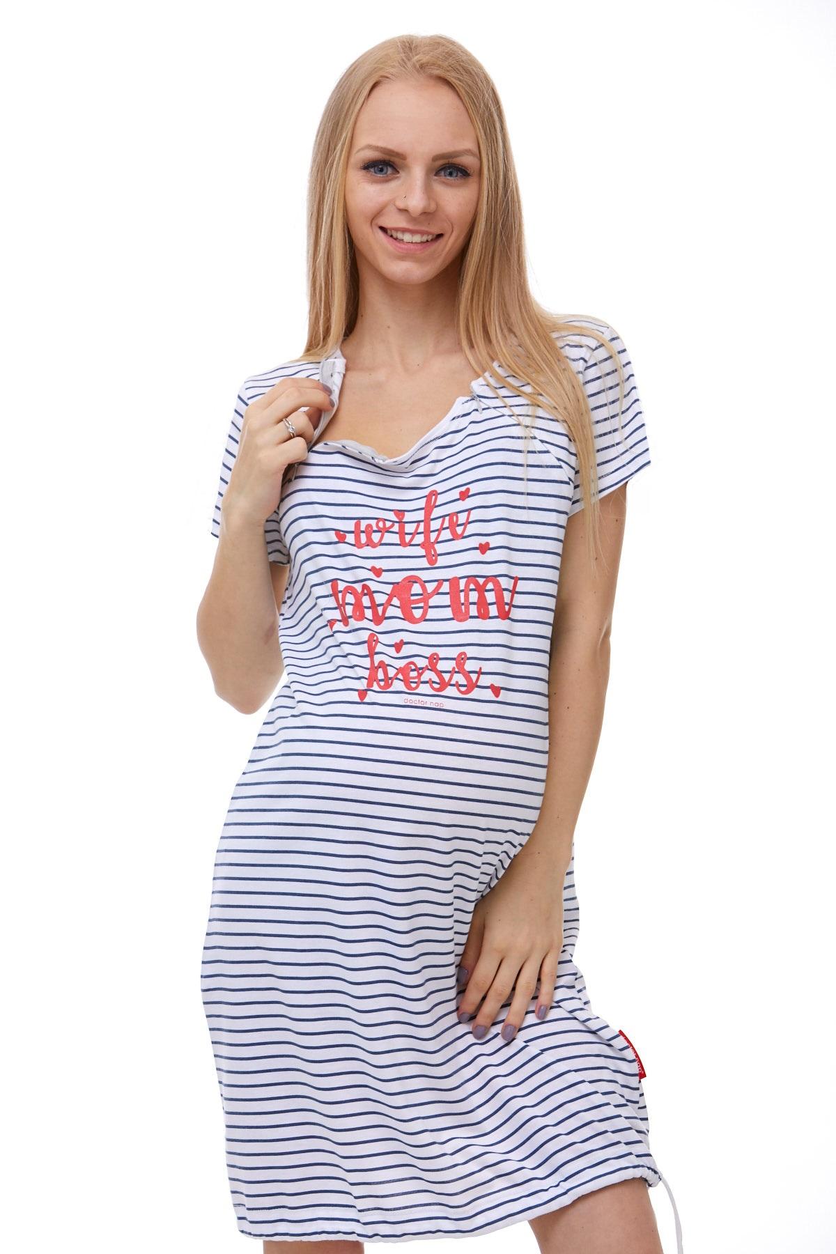 Těhotenská a kojící košile 1C1788