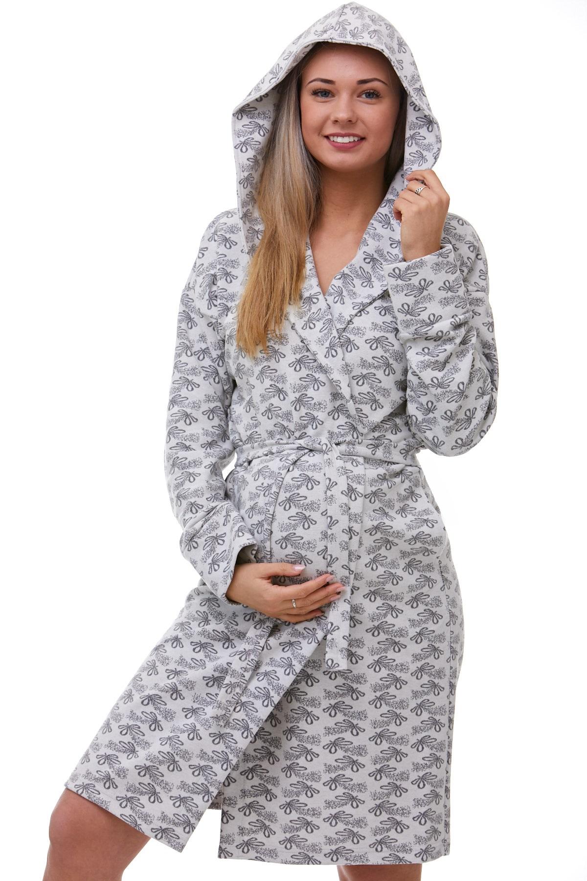 Těhotenský župan na kojení 1W0353