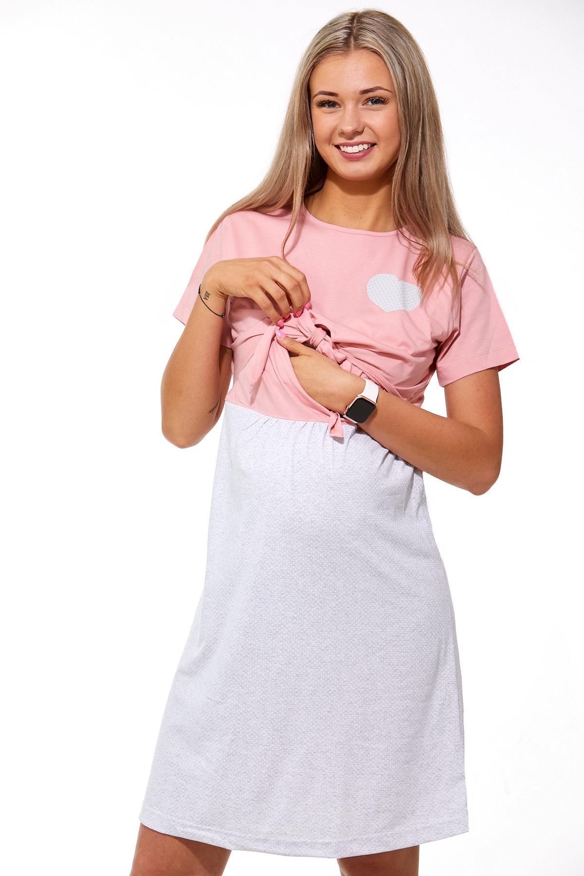 Diskrétní kojící košilka 1C1875