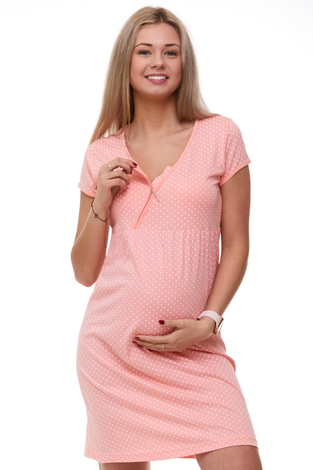 Těhotenská a kojící košilka 1C1873