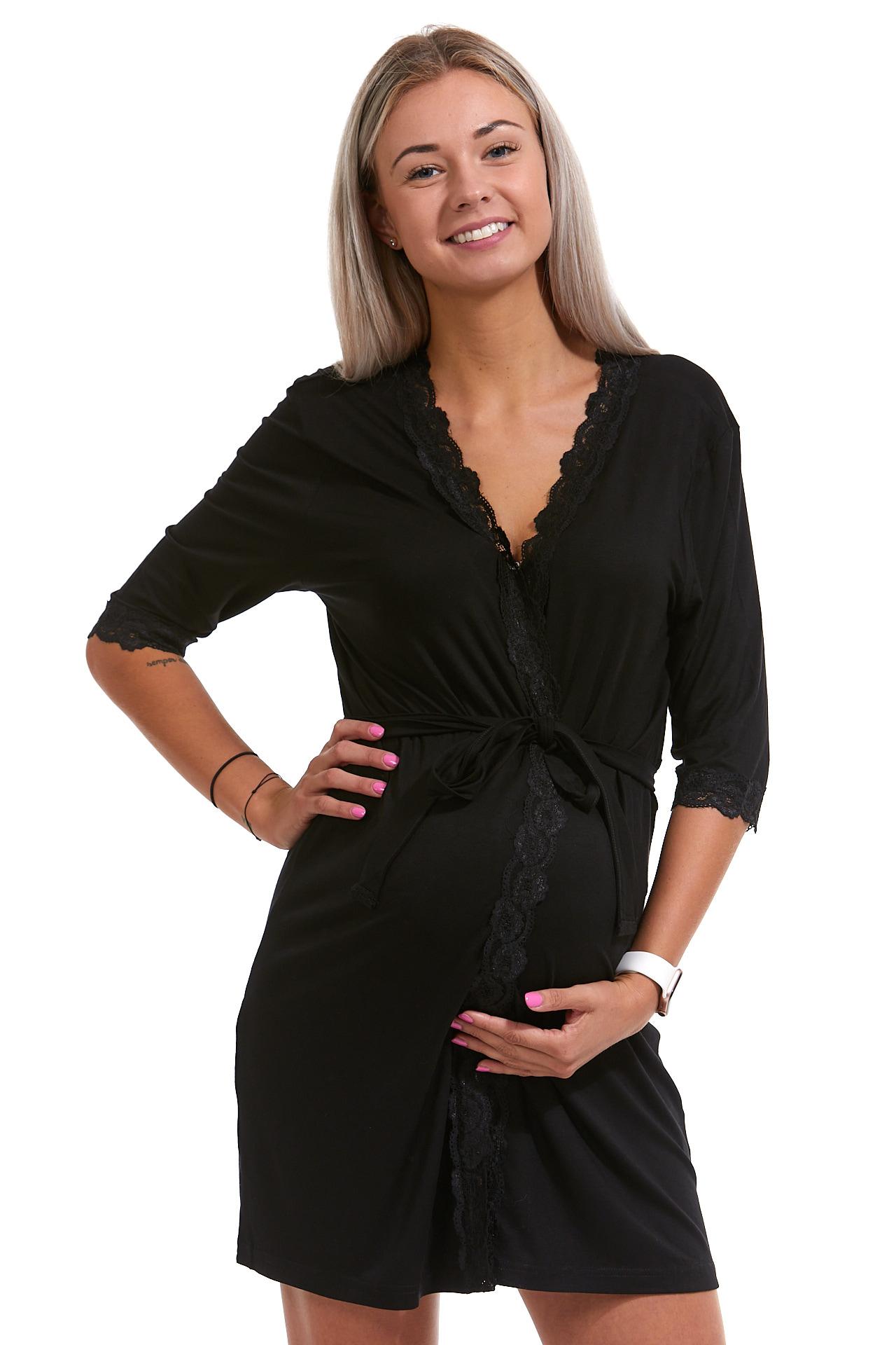 Župan luxusní pro těhotné ženy 1D0711