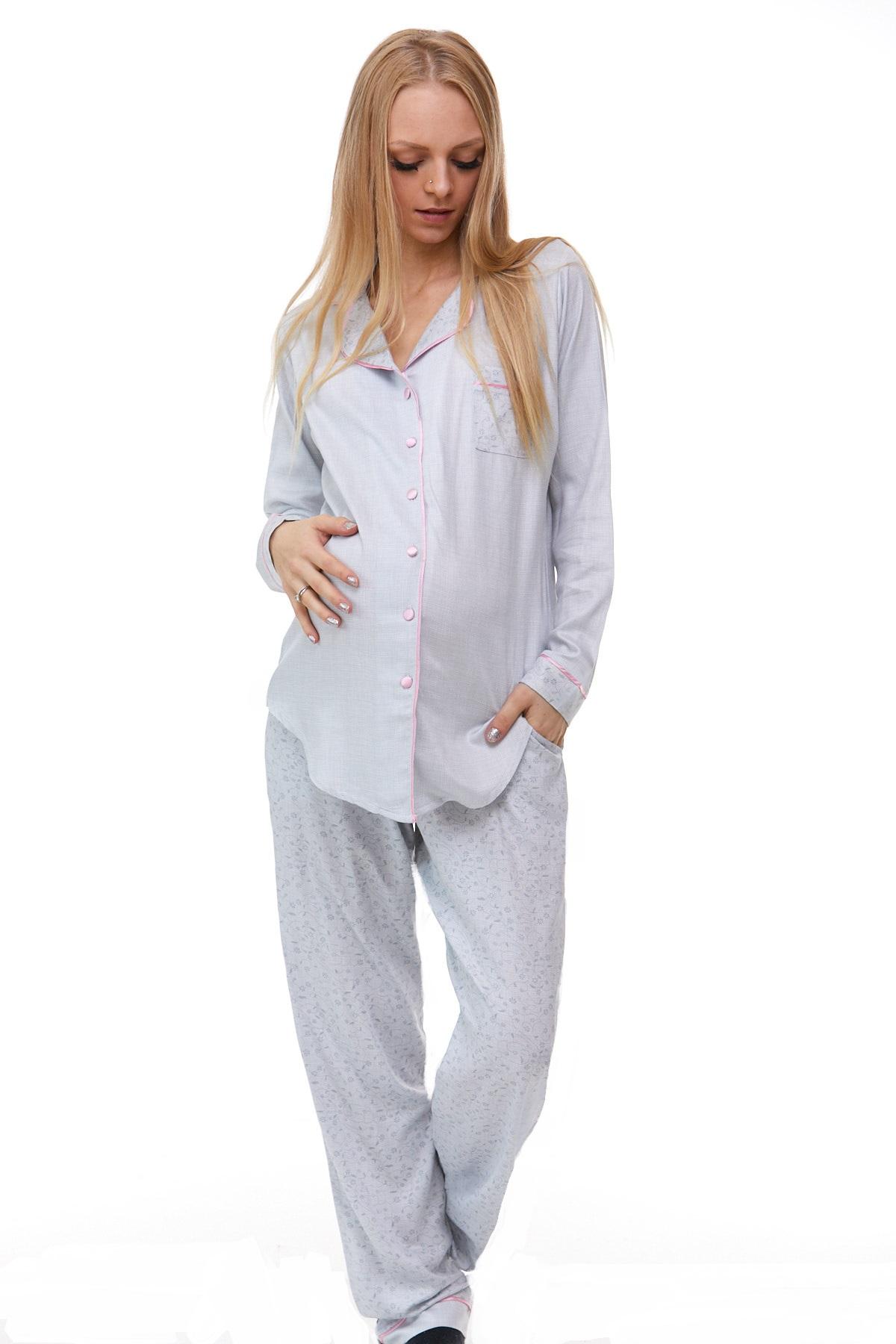 Luxusní pyžamo na kojení 1B0809