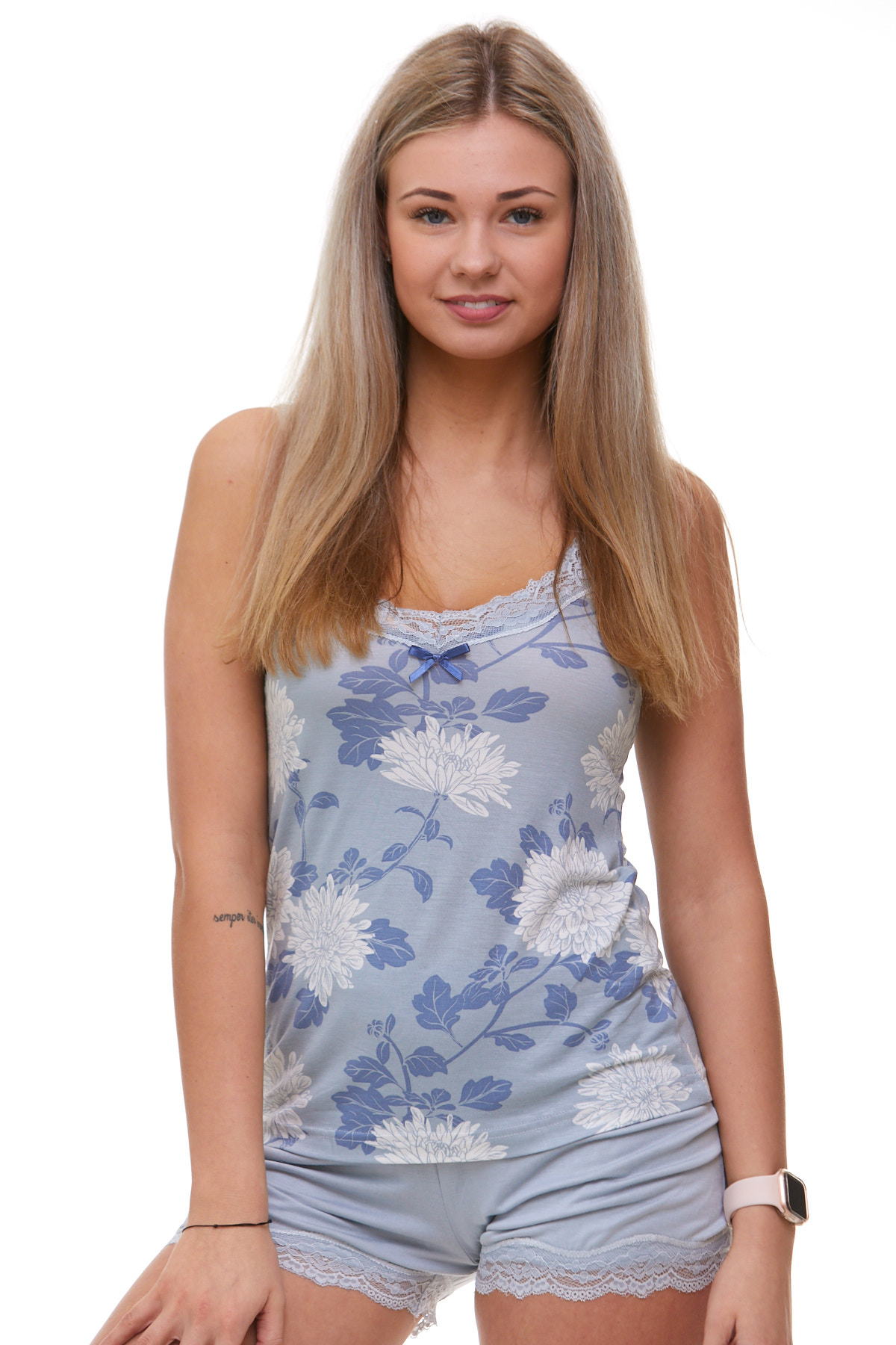 Pyžamo dámské luxusní 1D0715