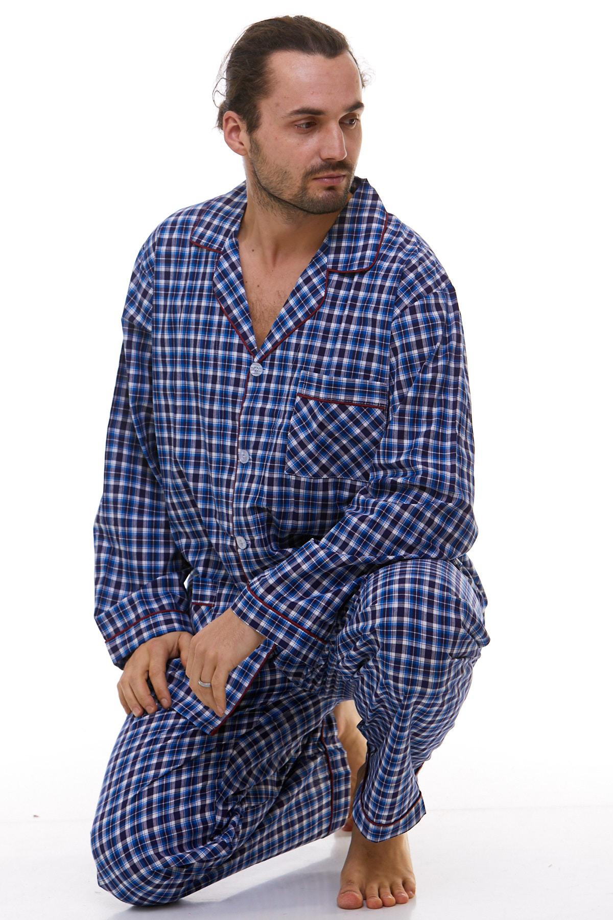 Pánské pyžamo klasické 1P0772