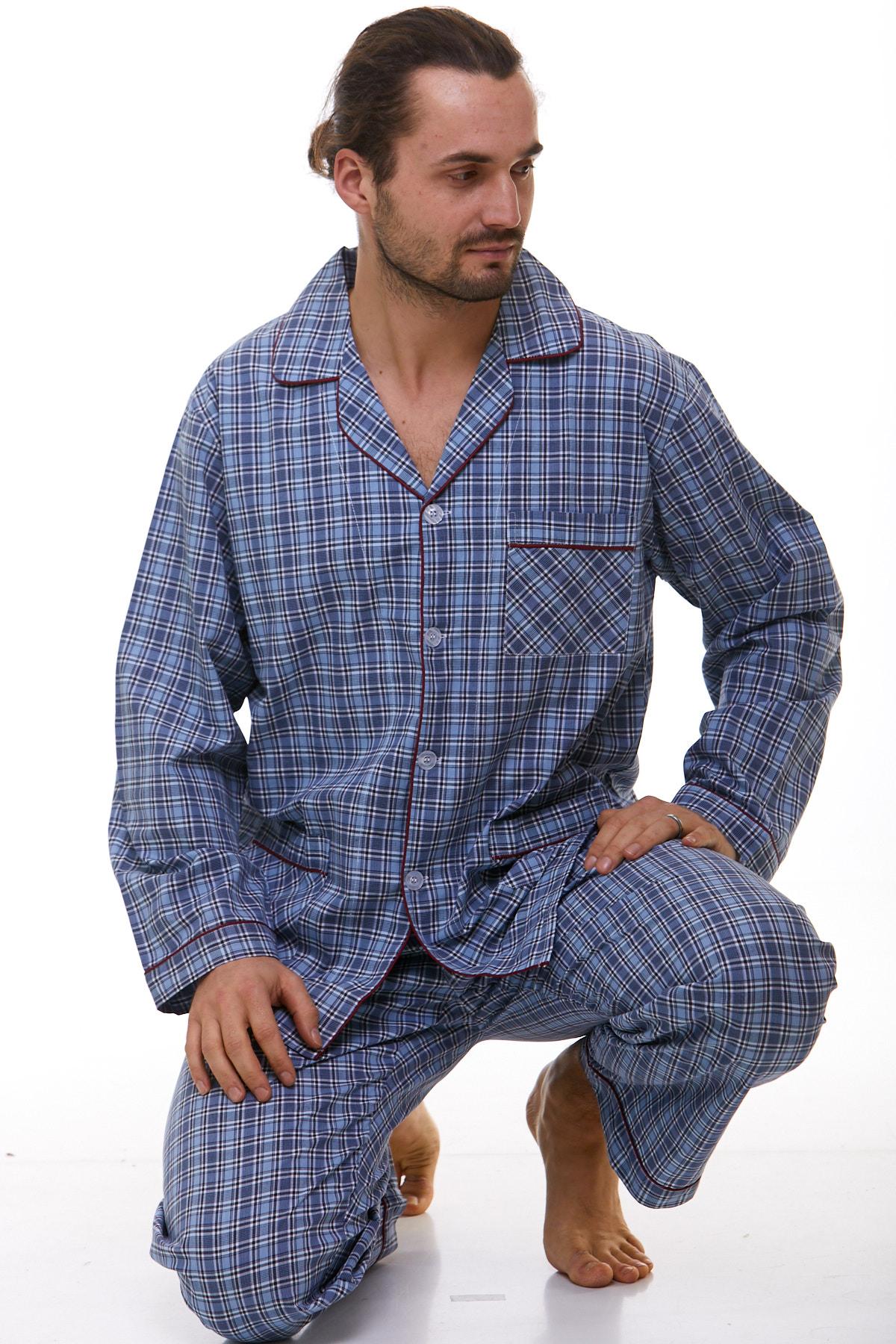 Pánské pyžamo klasické 1P0771