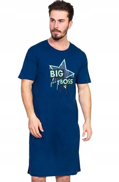 Pánská noční košile BIG Boss star 1P0767