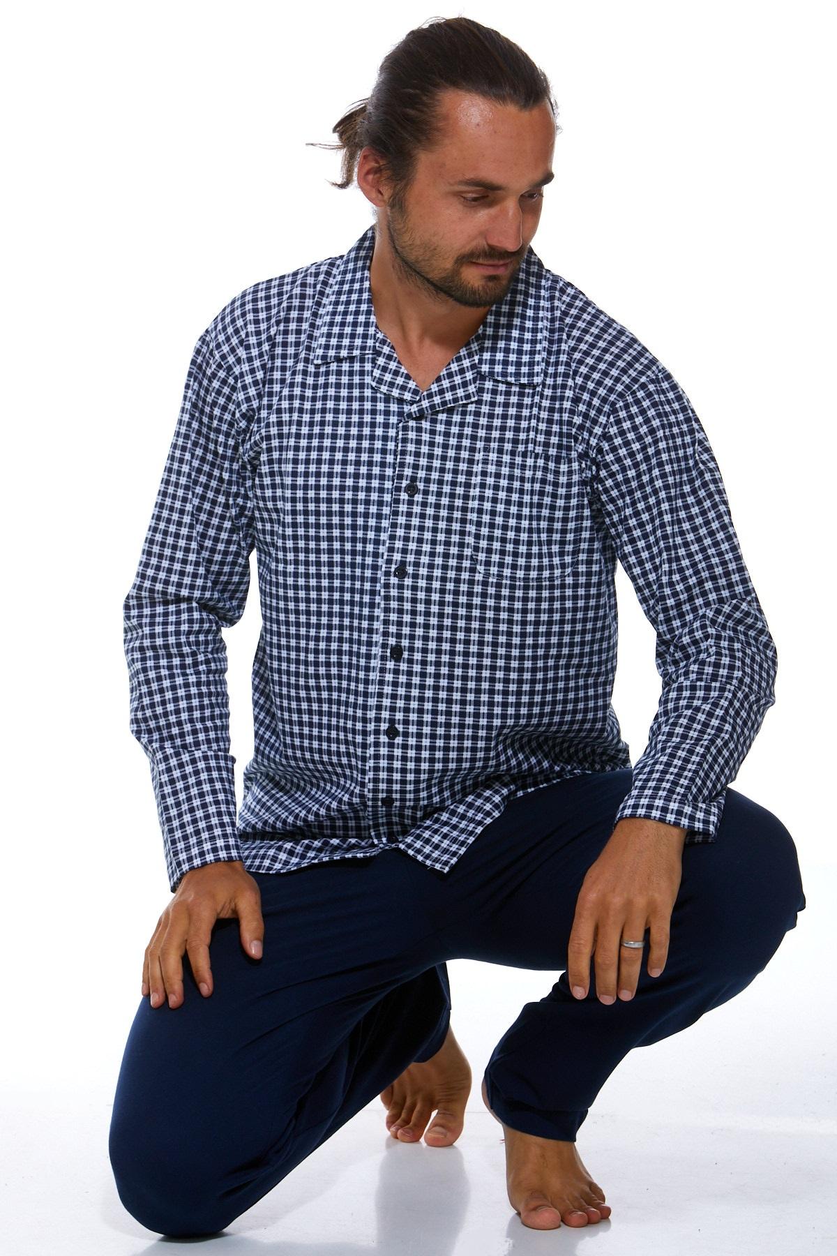 Pánské pyžamo klasické 1P0789