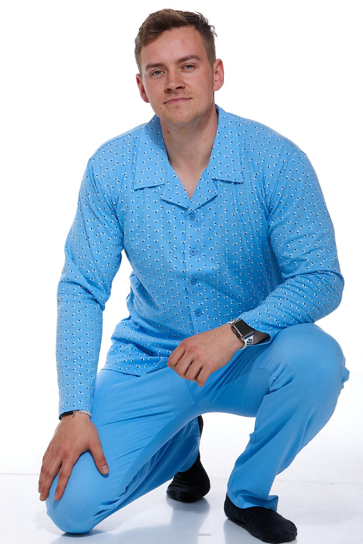 Pánské pyžamo klasické 1P0779