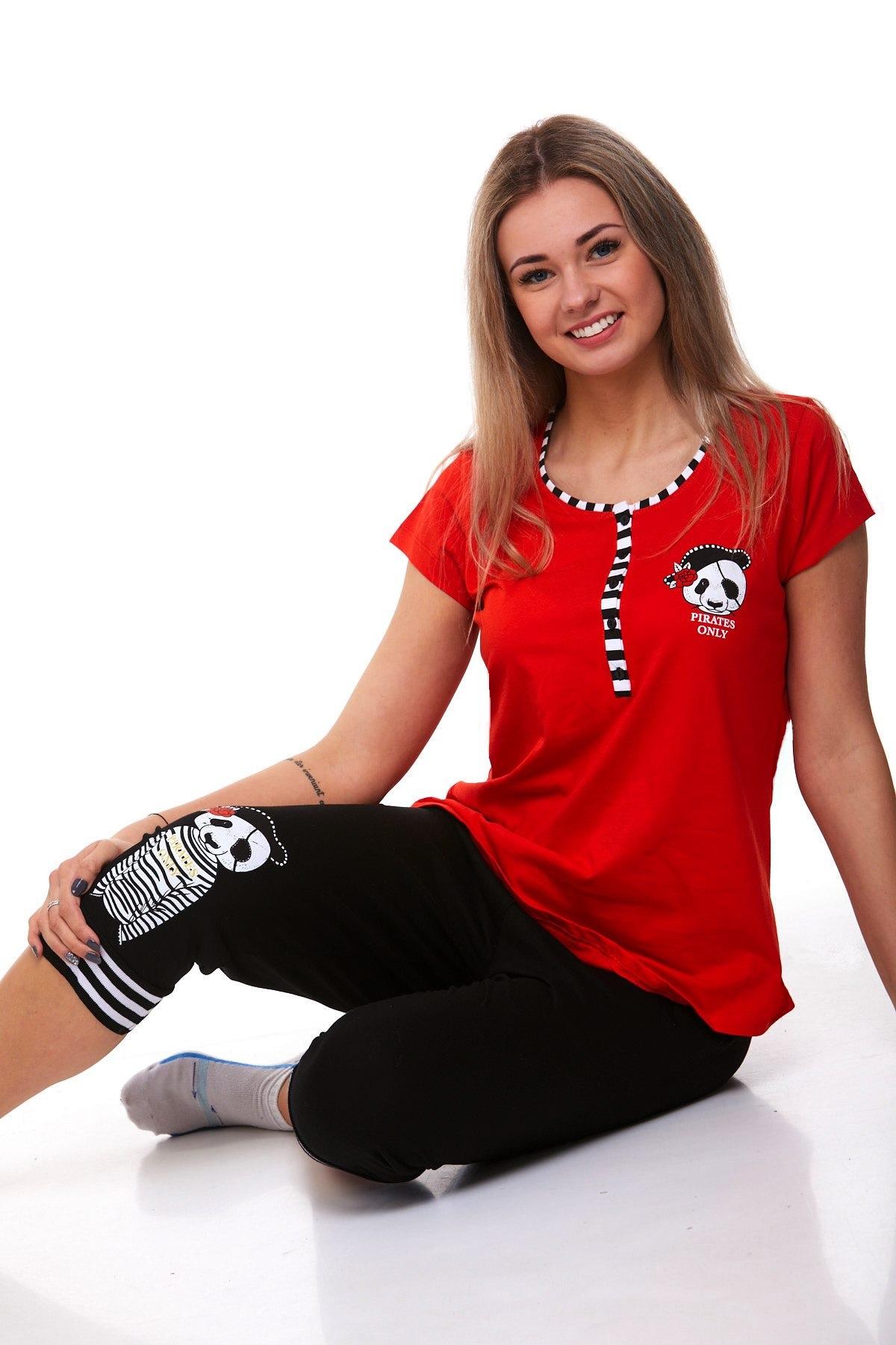 Dámské pyžamo pirát 1B0819