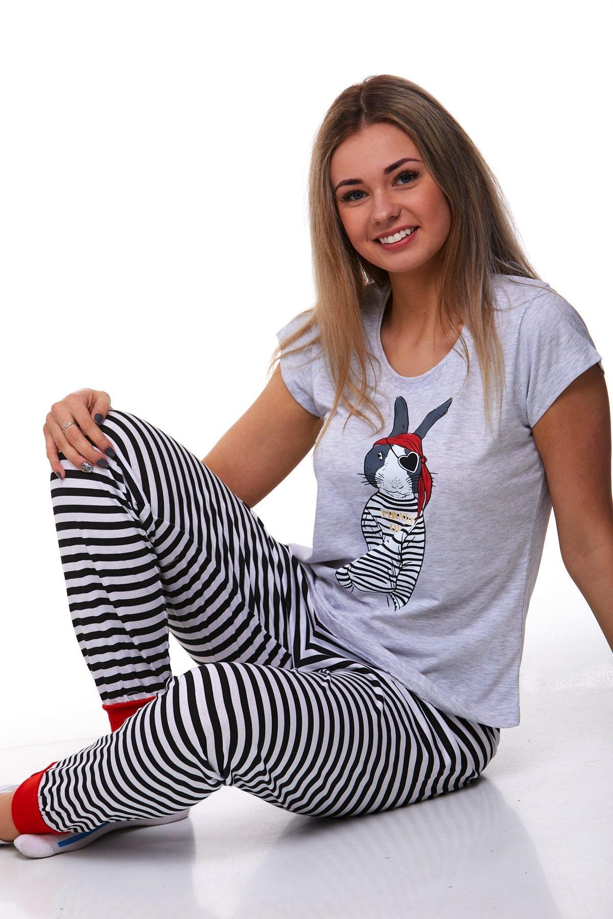 Dámské pyžamo pirát 1B0825