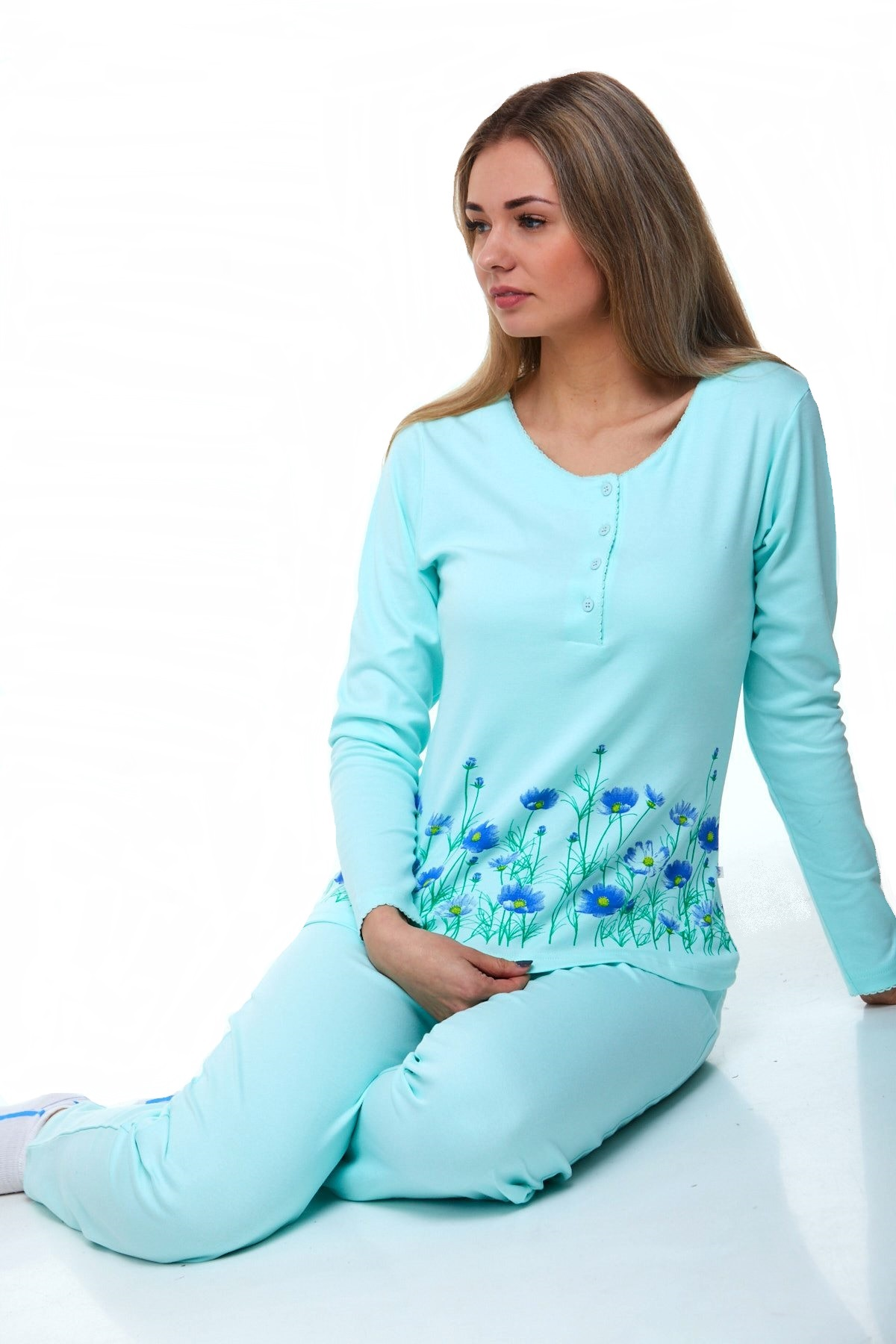 Luxusní pyžamo na kojení 1B0838
